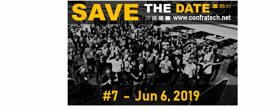 Save The Date... Vem aí nossa 7a edição ConfraTech