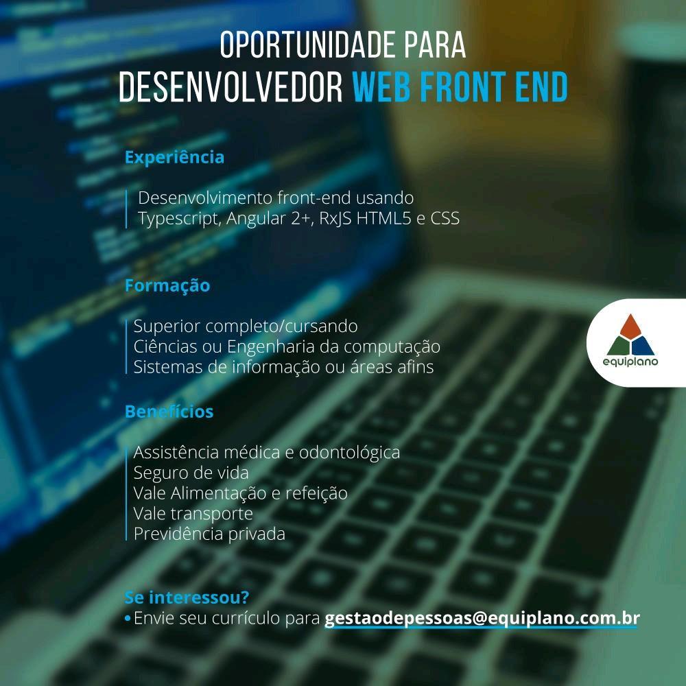 Desenvolvedor Web Front-End