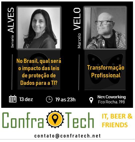 ConfraTech 2ª Edição: Transformação pessoal, Leis de Proteção de Dados e Inovação