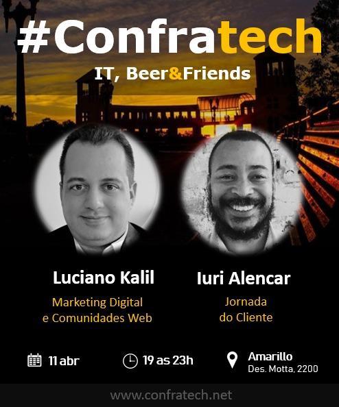 ConfraTech 5a edição: Marketing Digital e Comunidade Web