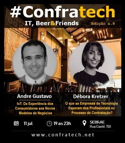 ConfraTech 8a Edição - IOT: Internet das Coisas | Processo Seletivo na Área de Tecnologia